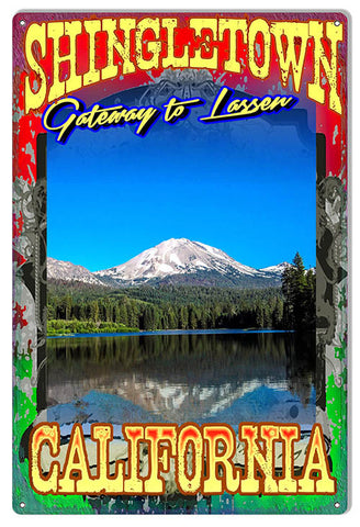 Shingletown Gateway To Lassen By Artist Phil Hamilton 12″x18″
