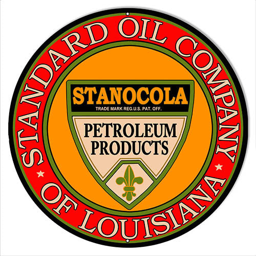 Standard Oil Company Gas Station Reproduction Sign 14″x14″