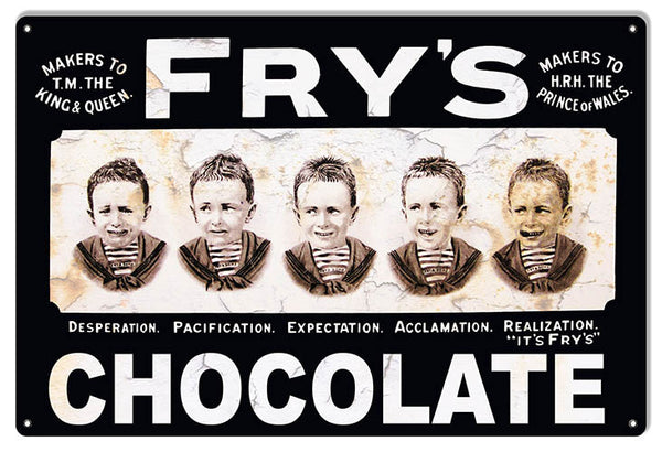 Frys Chocolate Nostalgic Sign 12″x18″