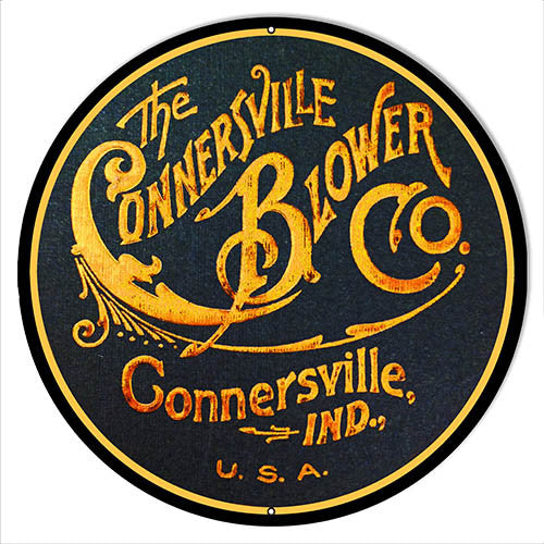 Connersville Blower Co Nostalgic Sign 14″x14″