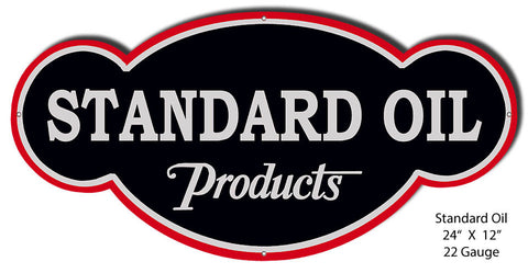 Standard Oil Reproduction Laser Cutout 12″x12″