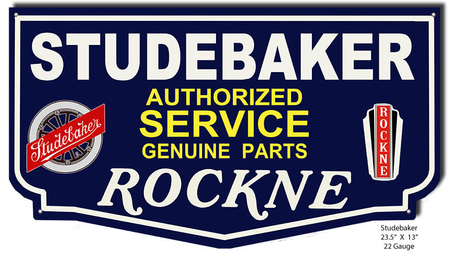 Studebaker Rockne Reproduction Laser Cutout 13″x23.5″