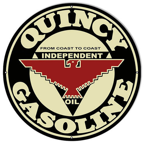 Quincy Gasoline Sign 18″x18″