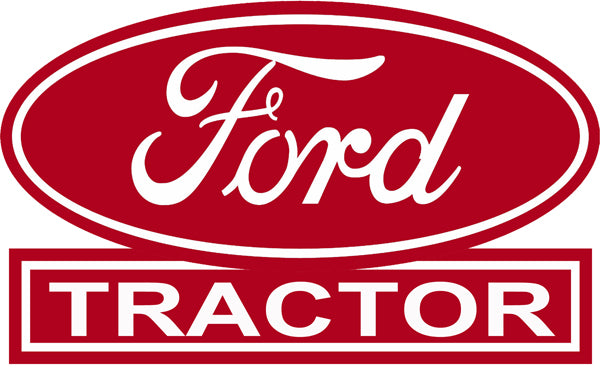 Ford Tractors Dealer Red Reproduction Construction Country Sign 15″x24″