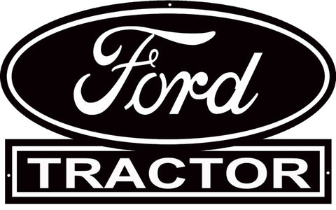 Ford Tractors Dealer Reproduction Construction Country Sign 15″x24″