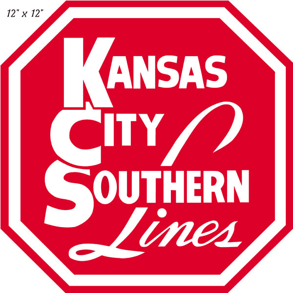"Southern Lines Reproduction Laser Cut Out Railroad Herald Sign 12""x12"""