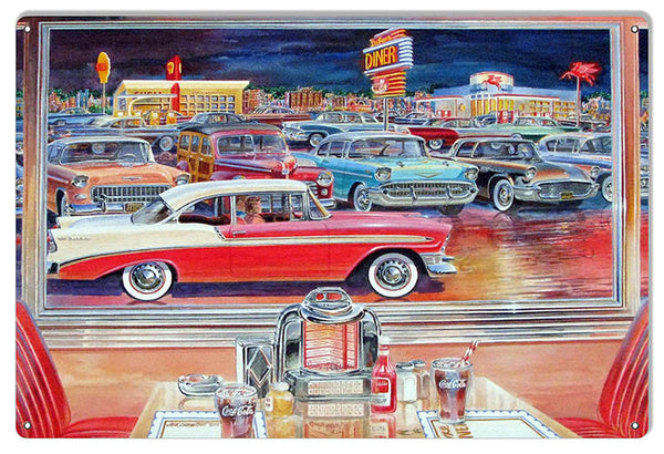 Classic Cars Reproduction Garage Shop Sign By Jack Schmitt 12x18