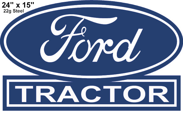 Ford Tractor Reproduction Laser Cut Out Country Sign 15x24