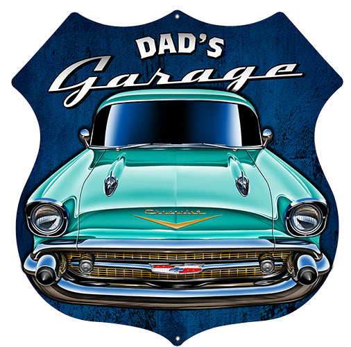 Polarine Motor Oil Reproduction Garage Art Metal Sign 18x18 Round