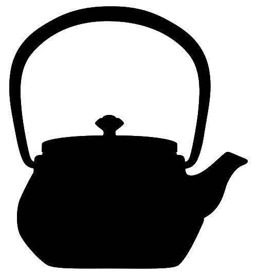 Teapot Laser Cut Out Wall Décor Silhouette Metal Sign 13x14.5