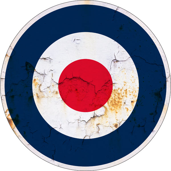 Royal Air Force Reproduction Garage Art Military Large Metal Sign30x30