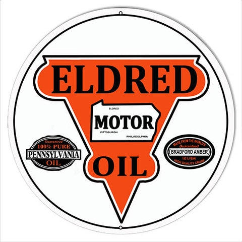 Big West Gasoline Reproduction Motor Oil Metal Sign 14x14 Round