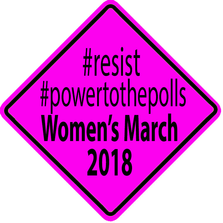 Resist Power to the Polls Women's March 2018