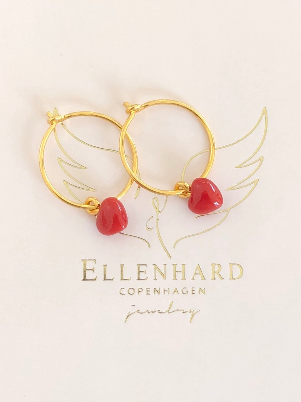 Coral Heart Hoops