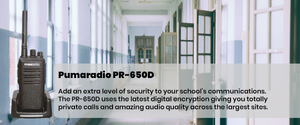 Pumaradio PR-650d education school image