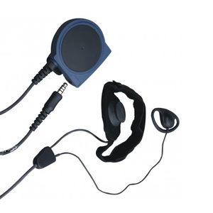 Hytera Throat Microphone & Earpiece Intrinsically Safe (ATEX)