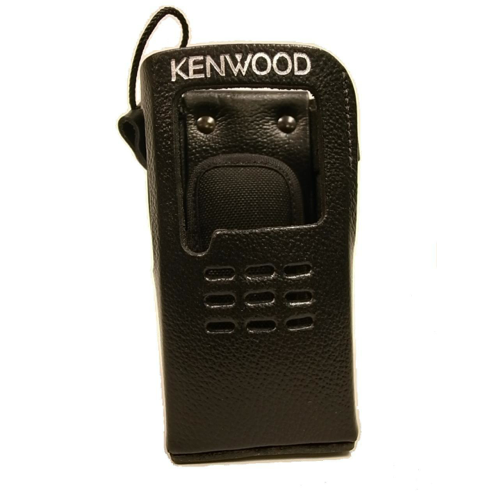Kenwood Leather Case With Belt Clip (Non-Keypad)