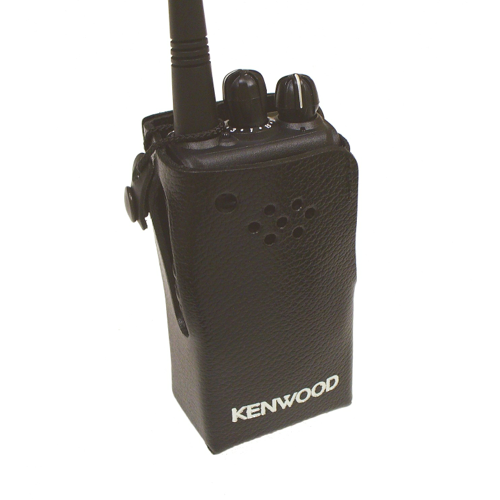 Kenwood Leather Case with Integral Belt Clip (Non-Keypad)