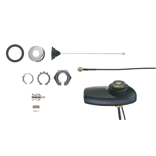Motorola Combination UHF/GPS Antenna with Roof Mount - 450 MHz to 470 MHz, 1/4 Wave Roof, BNC
