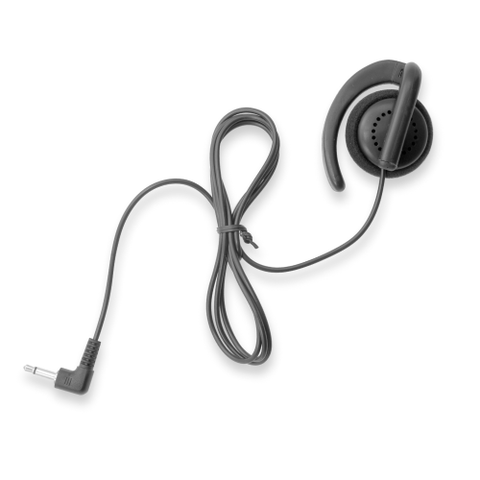 C Shape Listen Only Earpiece