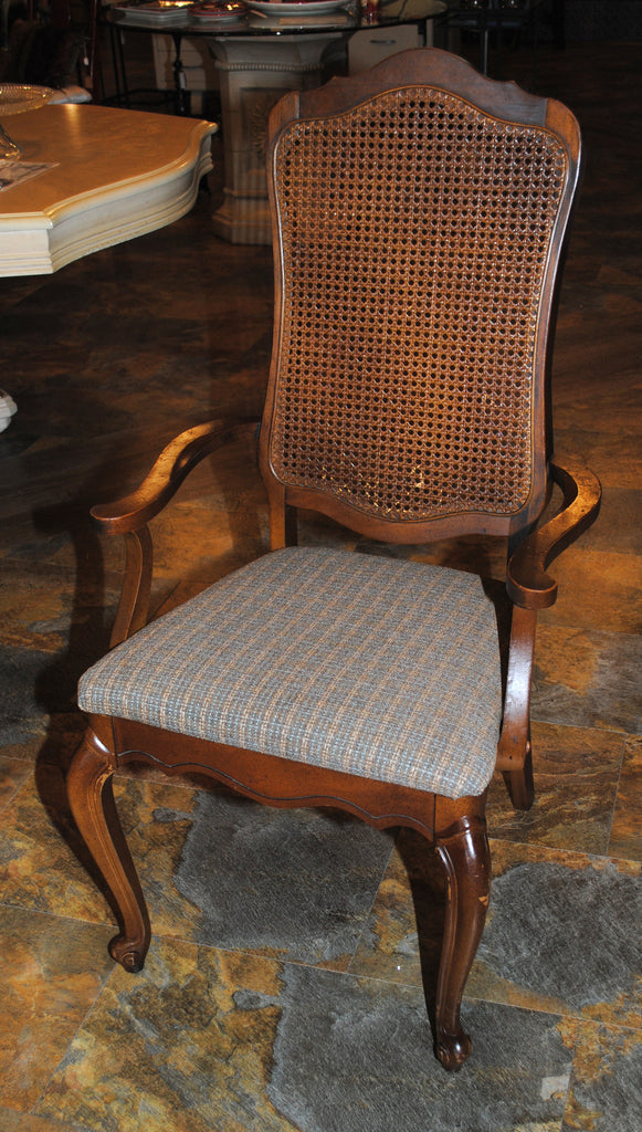 French Cane Chair french country vintage cane back dining chairs – rosewood bargain barn