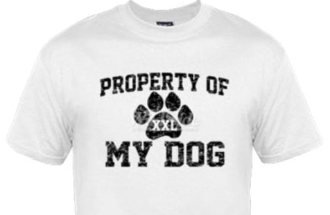 J - Property of My Dog