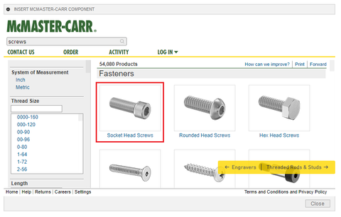 How To 3D Print Parts from McMaster-Carr