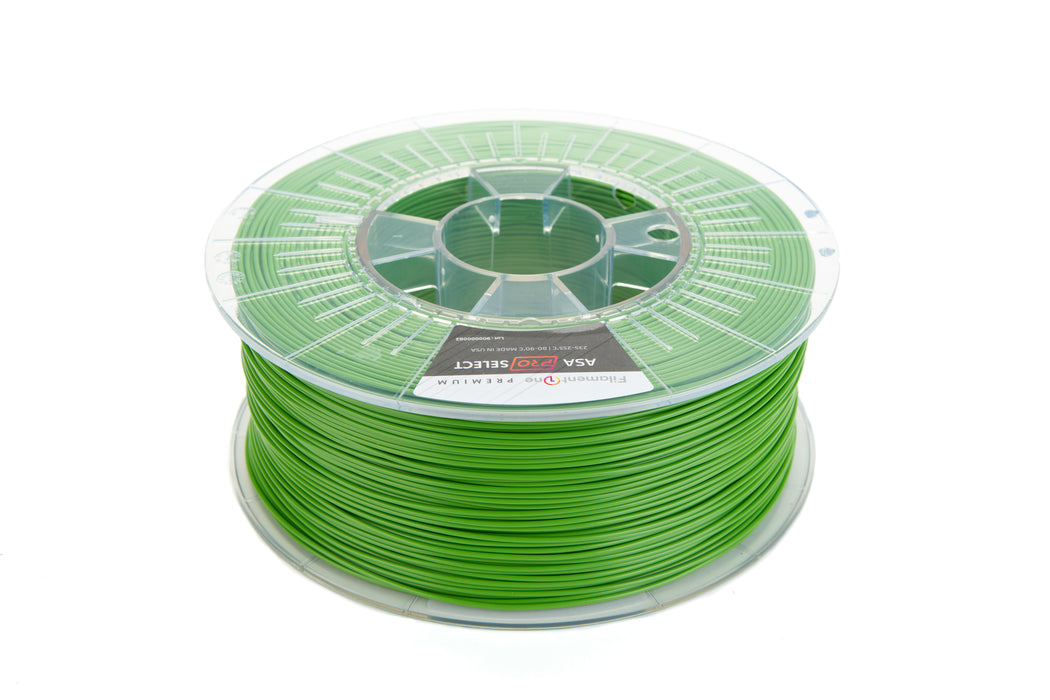 FilamentOne ASA PRO SELECT Yellow Green - 1.75mm (1KG)