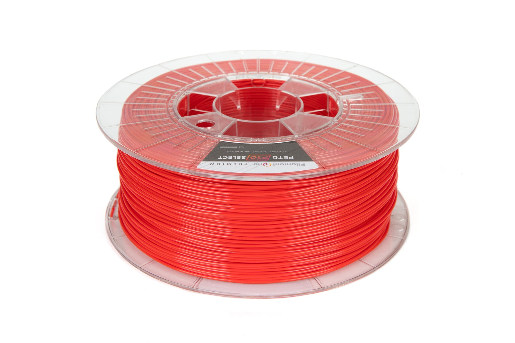 FilamentOne PETG PRO SELECT Traffic Red - 1.75mm (1KG) 3D Printer Filament
