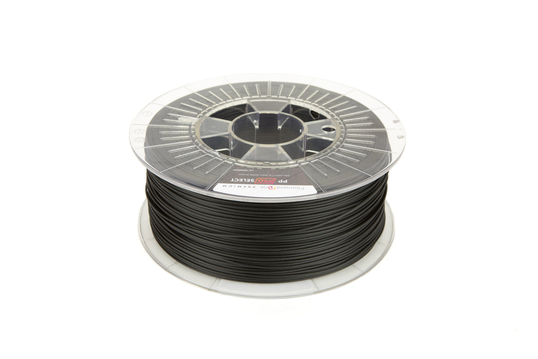 FilamentOne Polypropylene PRO SELECT Traffic Black - 1.75mm (0.75KG)