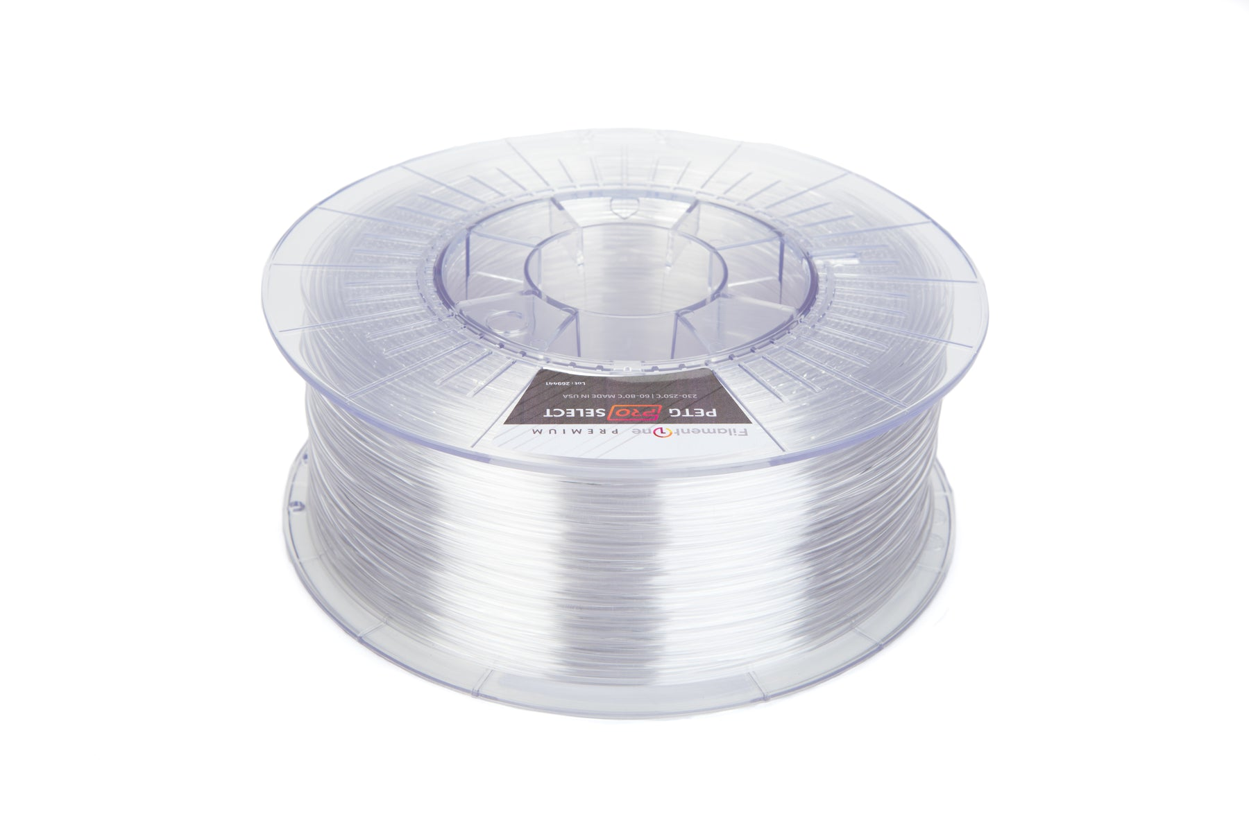 FilamentOne PETG PRO SELECT Clear - 1.75mm (1KG)