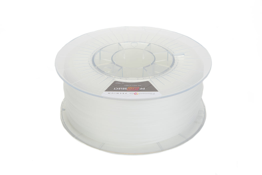 FilamentOne Polypropylene PRO SELECT Clear - 1.75mm (0.75KG)