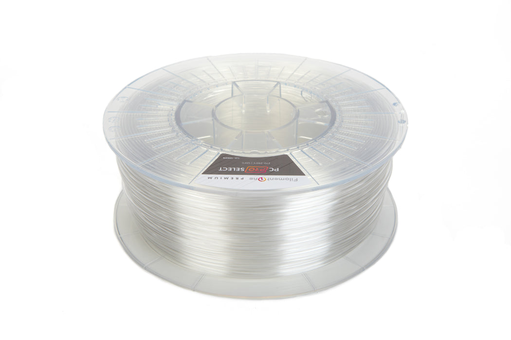 FilamentOne Polycarbonate PRO SELECT Clear - 1.75mm (1KG)
