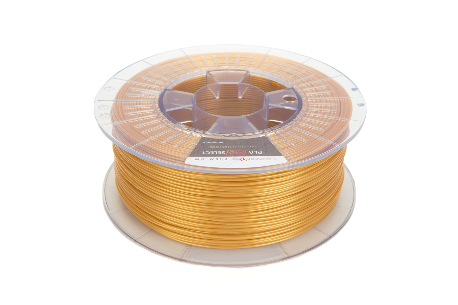FilamentOne PLA PRO SELECT Metallic Gold - 1.75mm (1KG)