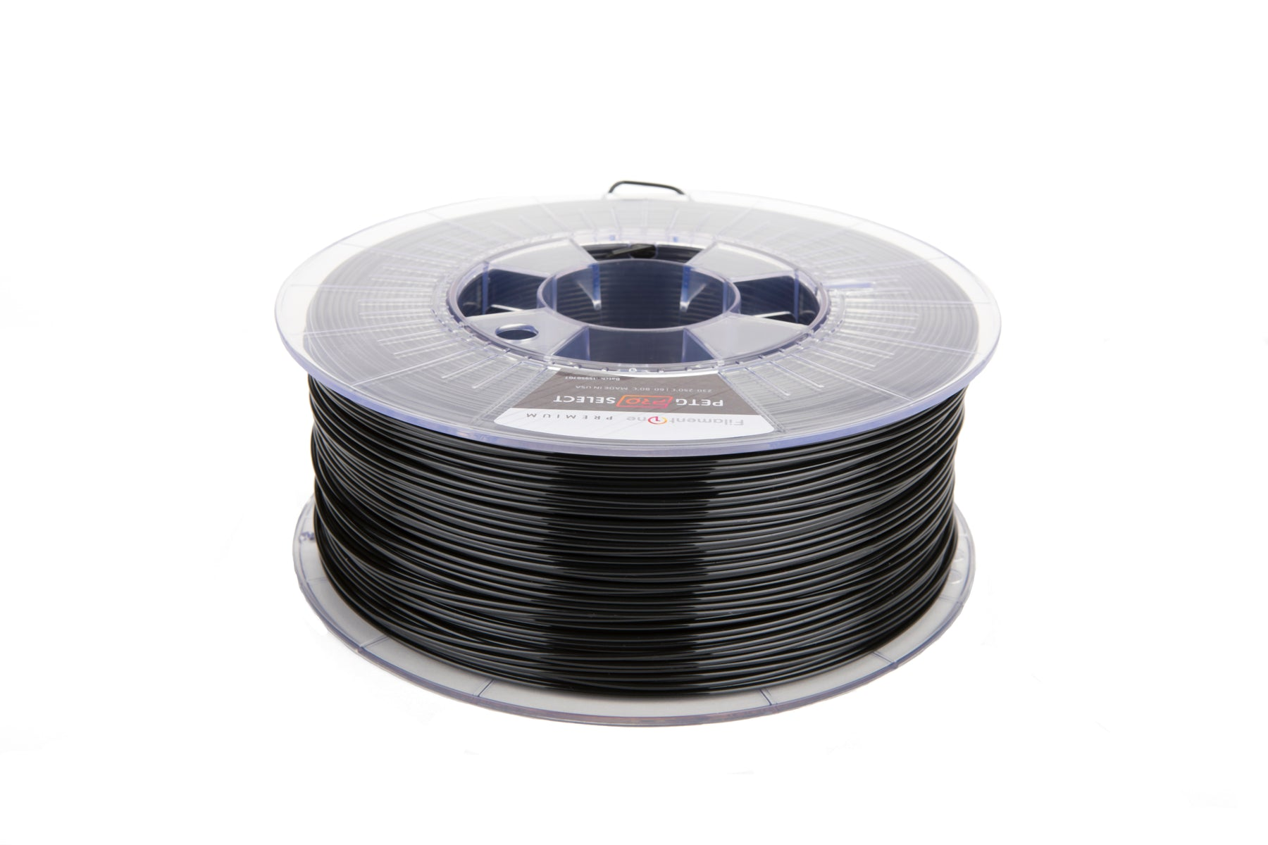 FilamentOne PETG PRO Select Traffic Black - 1.75mm (1KG)