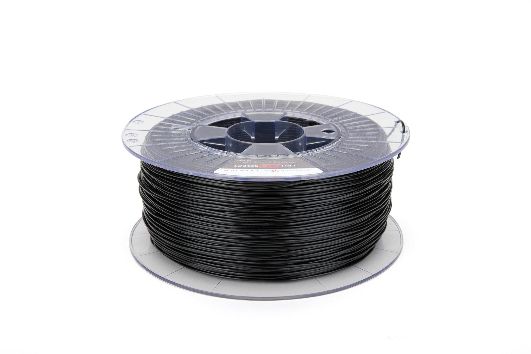 FilamentOne TPU 98A PRO SELECT Traffic Black - 1.75mm (1KG)