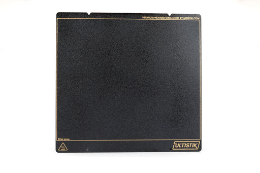 ULTISTIK Premium Powder Coated Ultem (PEI) Build Plate 254 x 241 Prusa MK3 MK3S Black Edition