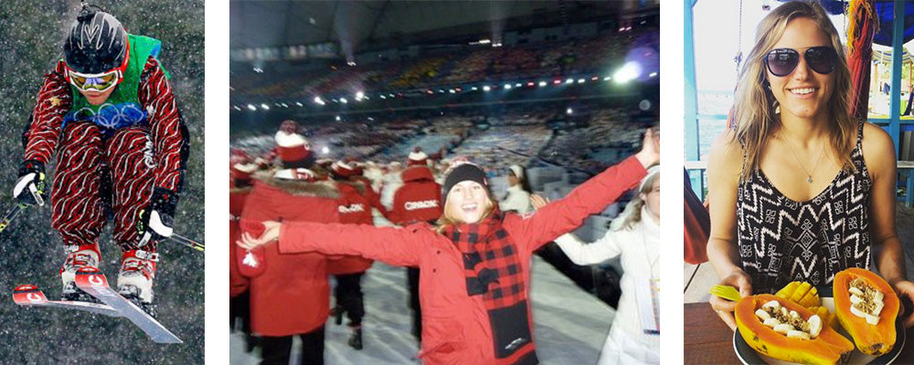 Julia Murray at the Vancouver Olympics