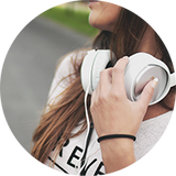 Listen to music to alleviate stress