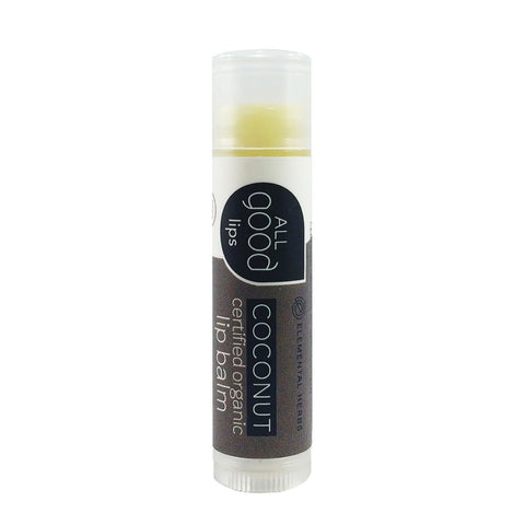 All Good Organic Coconut Lip Balm - eVitality.ca