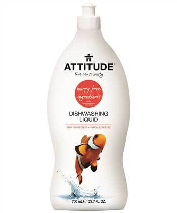 ATTITUDE Dishwashing Liquid - Pink Grapefruit - eVitality.ca