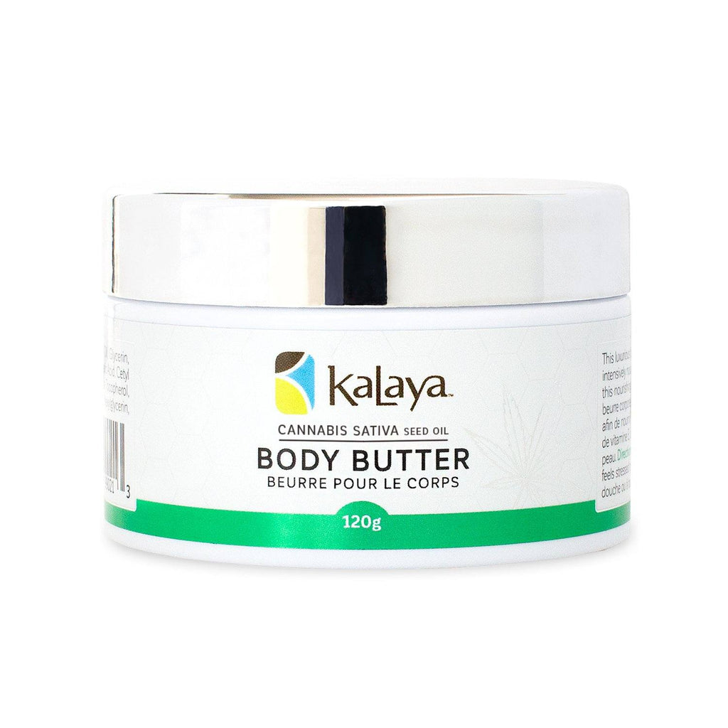 Kalaya Body Butter - Cannabis Sativa Seed Oil - eVitality.ca