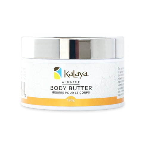 Kalaya Body Butter - Wild Maple 120g