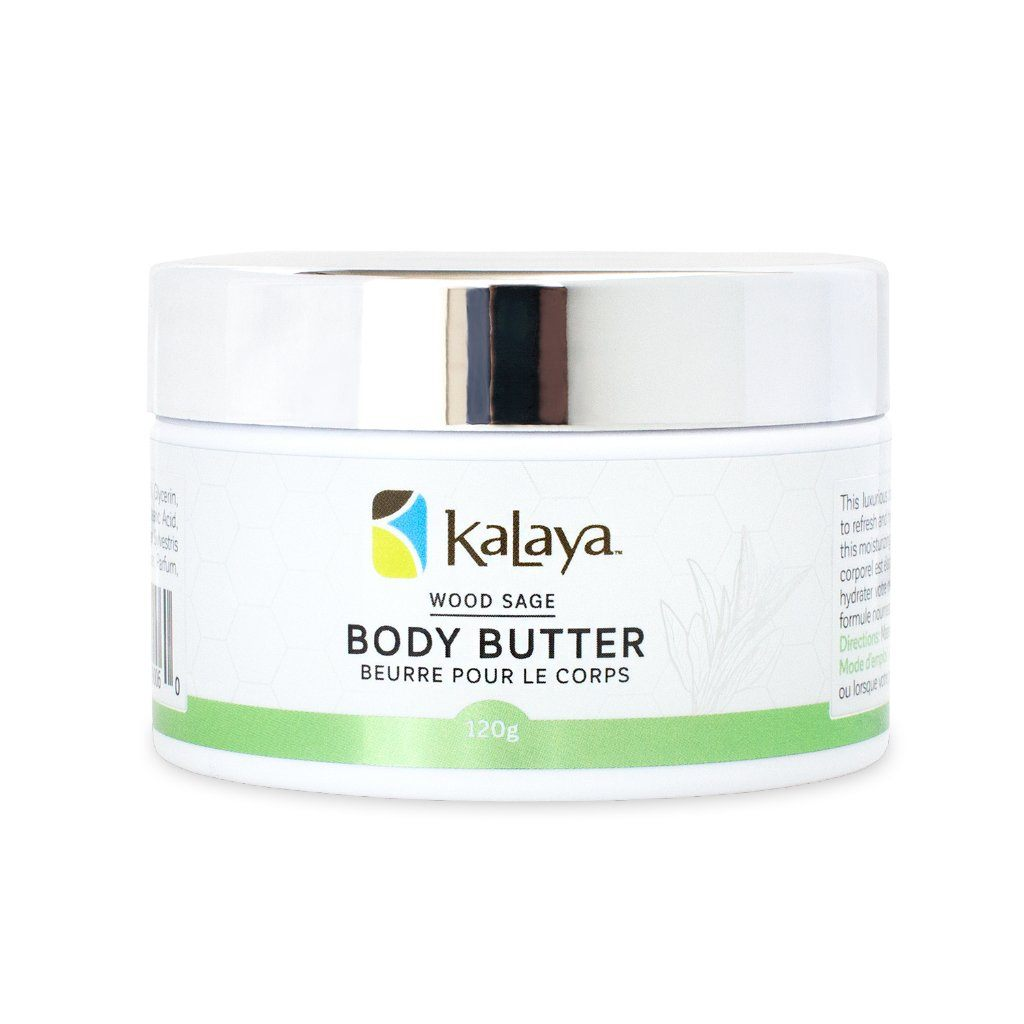 Kalaya Body Butter - Wood Sage - eVitality.ca