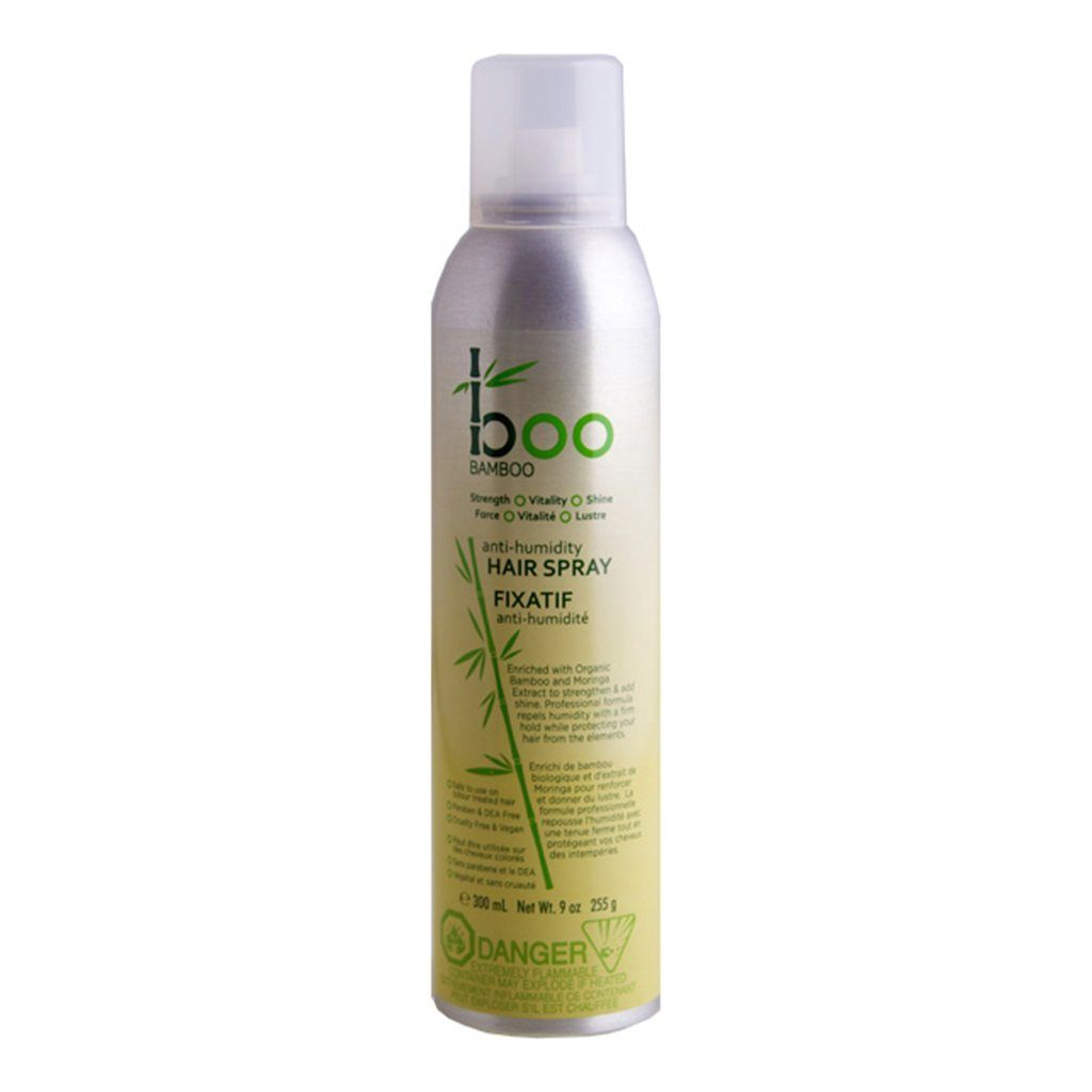 Boo Bamboo Anti-Humidity Hairspray - eVitality.ca