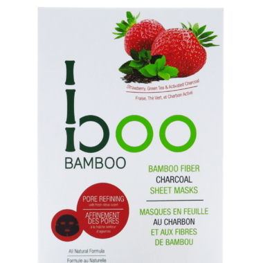 Boo Bamboo Sheet Mask - Pore Refining - eVitality.ca