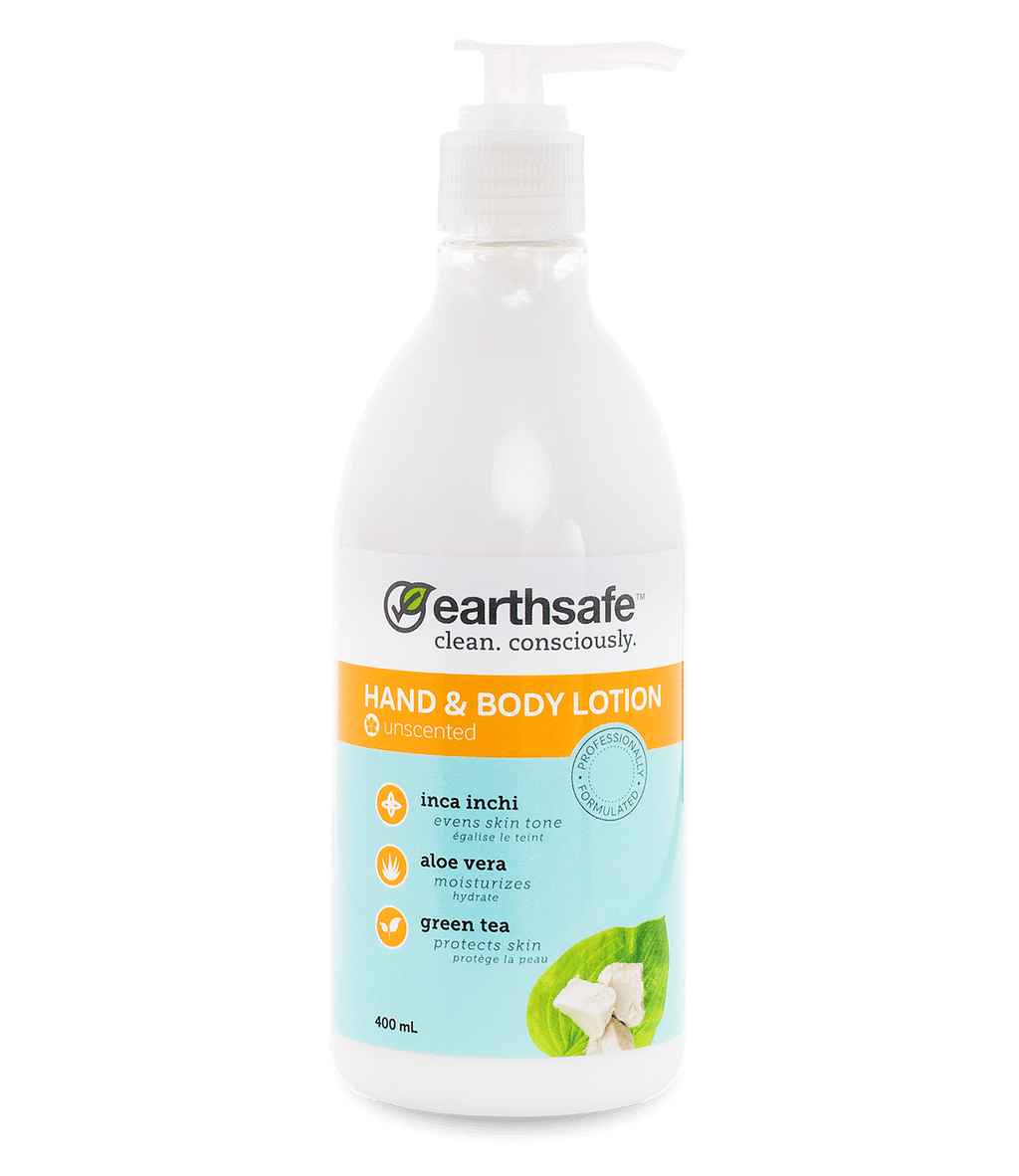 earthsafe Unscented Hand & Body Lotion - eVitality.ca