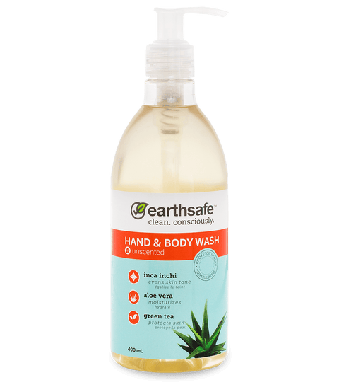 earthsafe Unscented Hand & Body Wash - eVitality.ca