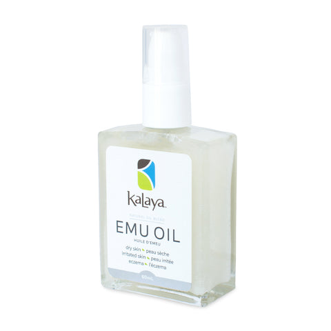 Kalaya Emu Oil - Natural Oil Blend, 60mL