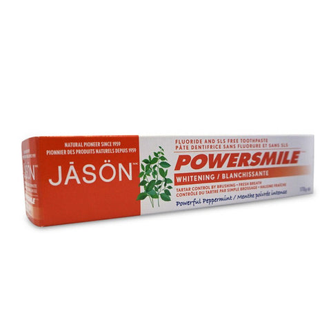 Jason Naturals Power Smile Whitening Toothpaste - eVitality.ca